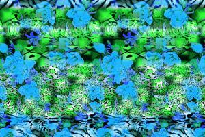 数码印花动物纹蛇纹花型