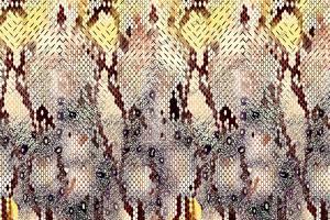 数码印花动物纹蛇纹