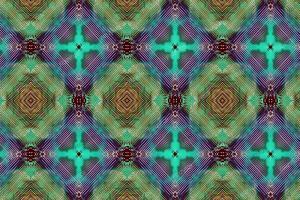 数码印花民族几何纹
